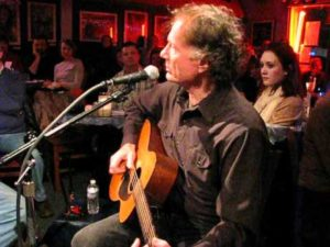 Grammy-wining songwriter, Wood Newton live at the Bluebird Cafe, Nashville